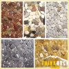 River Stone Pebble Cobble Tile for Garden Decoration