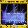 Outdoor Floating Dancing Pond Fountain with Multicolored Lights