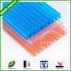 6mm Hollow Twin-Wall Polycarbonate Laminate Sheet PC Sun Sheet