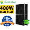 Yangtze Solar Power 390W 400W 410W 420W Half Cell Perc Monocrystalline Solar Panel