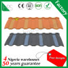 Lightweight Building Material Flat Roof Tile Stone Coated Roofing for Villa