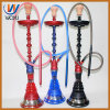 Zinc Alloy Material Hookah Set Glass Bottle Shisha