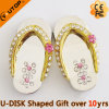 Company Gifts Flip Flops Diamond USB Memory Stick (YT-6245-02)