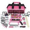 201PCS Professional Pink Mechanical Tool Bag Set (FY201B)