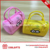 Hot Selling Waterproof Silicone Kids Lovely Handbag with Zipper
