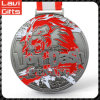 Pretty and Colorful Lion Logo Sport Medal with Custom