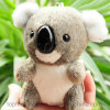 OEM Accept Mini Plush Koala Bear Keychain Toy