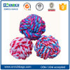 Dogs Environmental Chew Toys Colored Cotton Rope Ball