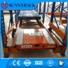 High Efficiency and Manpower Saving Shuttle Pallet Rack
