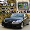 Android Navigation Box for Lexus GS450h GS350 2005-2009 Video Interface Rear and 360 Panorama Optional