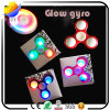 New Products Finger Spinner Awesome Metal LED Lights Fidget Hand Toys Factory Price