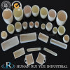 Cylindrical or Conical Al2O3 Ceramic Corundum Alumina Crucible in Laboratory