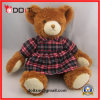 Check Skirt Toy Bear Soft Teddy Bears