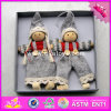 2017 New Products Baby Cartoon Christmas Wooden Dolls for Girls W02A230