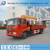 SGS Ce ISO Certificates Hydraulic Flatbed Truck Mounted Crane for Sale