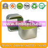 Square Candle Tin Box, Gift Tin Container, Travel Tin