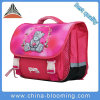 38cm Beer Pattern Pink Cartoon Girl Lovely Polyester School Bag