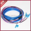 FTTH Fiber Optic Multimode LC to SC Connector Fan-out Cable