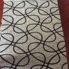 Gemotrical Design Flock Fabric for Sofa