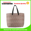2016 Eco Large Cotton Canvas Lady Supermarket Shopping Promotional Bag with 210d Polyester Inside