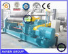 Three rollers metal sheet bending and rolling machine W11-10X4000