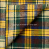 100% Cotton Flannel Yarn Dyed Twill Shirting Fabric