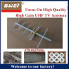 Yagi Antenna with 470-862MHz UHF Frequency
