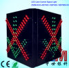 Toll Station Traffic Lane Control Signal Light with Red Cross & Green Arrow