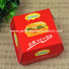 Wholesales Recycled Kraft Paper Meal Box Food Safe Paper Hamburger Box