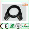 1.5m 21pin Ferrite Connectors Scart Plug to Scart Plug Cable