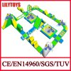 High Quality! ! Newest Design Blue Color Floating Adult Water Park with Obstacle Sport Game for Sea (Lilytoys-WP37)