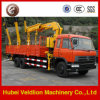 5-10tons Knuckle Boom Crane Truck