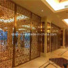modern Stainless Steel Room Divider Screen Dubai Style for Hotel Room Decoration
