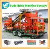 Trailer Brick Machine Could Drive, Brick Machine Install in Trailer