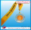 College Medal with Ribbon Printing