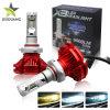 Waterproof IP68 off Road 3 Colors Wholesale Auto Light Car LED X3 12V LED Headlight Bulbs