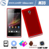 Cheapest 4 Inch Sc7715 3G Dual SIM Kitkat 4.4 Android Smart Mobile Phone (M35)