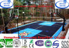 Covering Non Toxic with Multi Color Removable Basketball Flooring