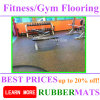 Home Use Rubber Material Gym Center Training Flooring Tile
