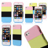 2016 Hot Sell Removable PC Rainbow Phone Cases for iPhone5, Phone Accessories