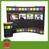 Dye Sublimation Printing Exhibition Curved Wall Banner