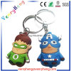 Hot Sale Custom Cartoon PVC Rubber Keychain for Promotion Gift