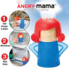 Angry Mama Microwave Cleaner, Microwave Oven Steam Cleaner