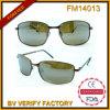 FM14013 China Wholesale Matte Gold Metal Sunglasses Free Sample