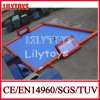 2015 Newest Inflatable Water Football Field Equipment with Bottom (J-SG-006)