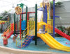 Colorful Multifunction Steel Tube Water Park