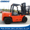 Easy Operate and Automatic Medium Fork Lift Trucks 5 Ton