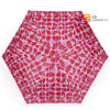 Red Color 6 Ribs 3 Folding Umbrella