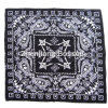 Custom Made Logo Paisley Printed Promotional Cheap Cotton Scarf