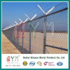 PVC Coated Prison Fence / Chain Link Fencing for Zoo